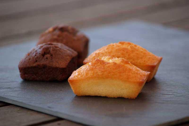 Petits gâteaux moelleux