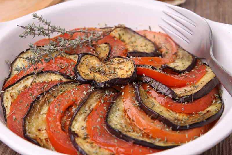 Gratin de légumes à la provençale